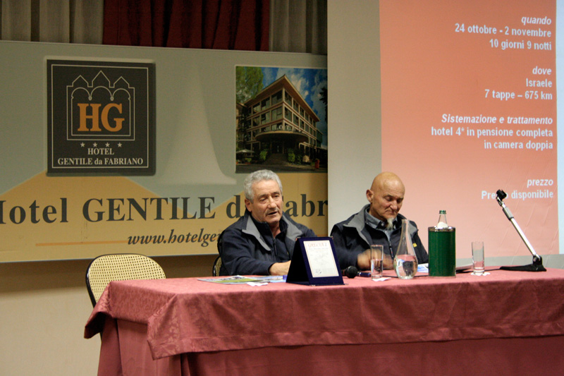Presentazione Cicloturismo Grandi Raid 2014 Mario Pescosolido Aleste