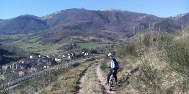 FABRIANO GUBBIO IN MOUNTAIN BIKE