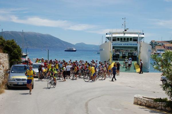 raid cicloturistico in Grecia 2015