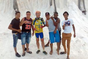 pedalare a Santo Domingo