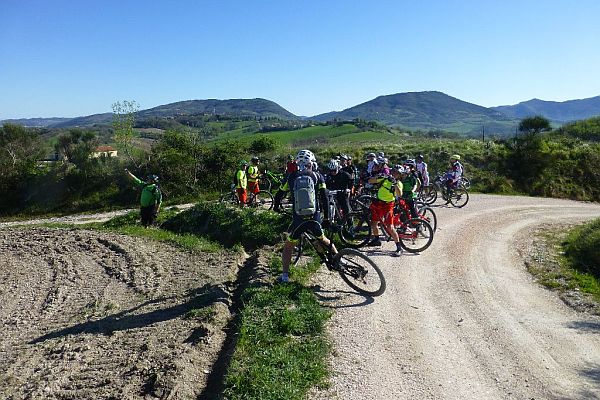 4° FABRIANO - GUBBIO IN MOUNTAIN BIKE
