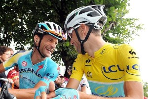 scarponi e nibalia al tour de france - Copia