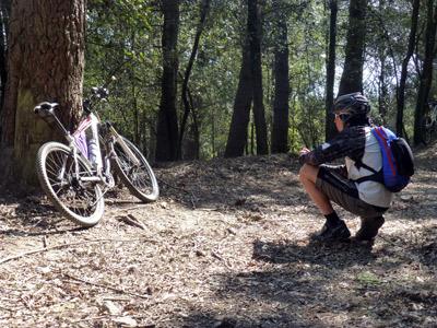 isola d'elba in mountain bike
