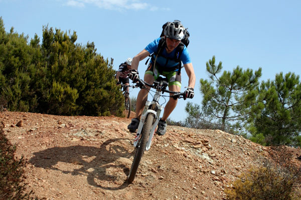 mountain bike isola d'elba