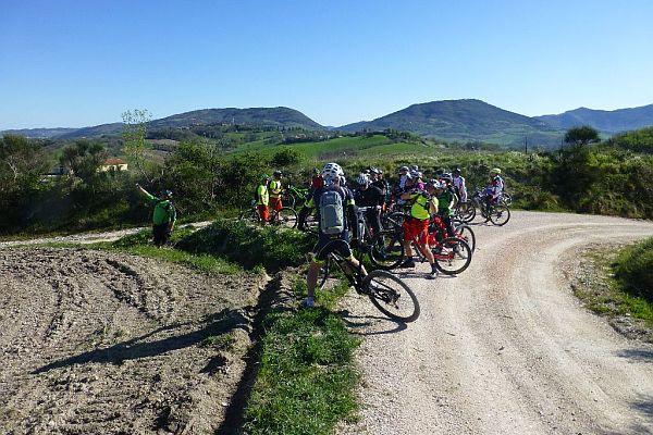 4° FABRIANO - GUBBIO IN MOUNTAIN BIKE